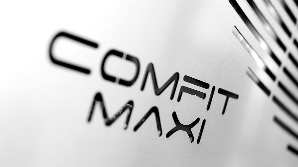 Comfit Maxi coating pan: details of the protection cover